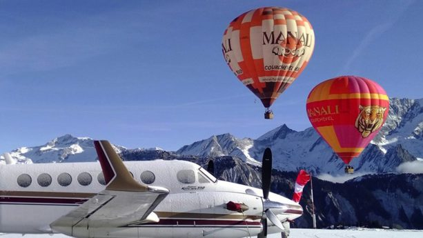Six Senses Residences Courchevel Hot Air Balloon Flight
