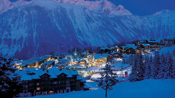 Six Senses Residences Courchevel Night View