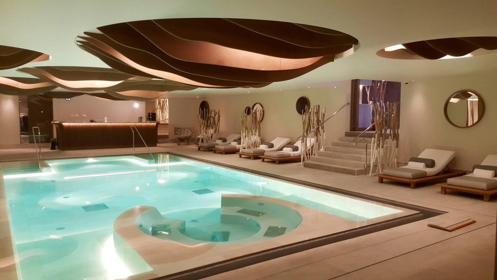 Six Senses Residences Courchevel Spa Pool