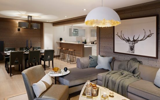 Six Senses Residences Courchevel Three-Bedroom Prestige Family Apartment (109 sq.m.)