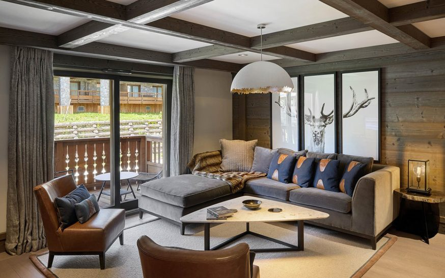Six Senses Residences Courchevel Three-Bedroom Prestige Family Apartment (122 sq.m.)