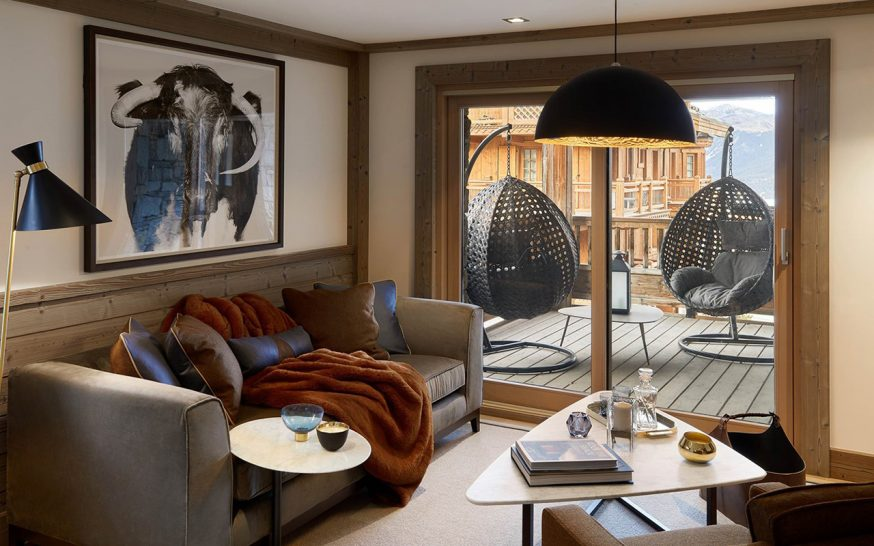 Six Senses Residences Courchevel Two-Bedroom Apartment Mountain View
