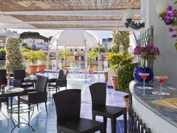 Terme Manzi Hotel and Spa Bougainvillea Roof Garden