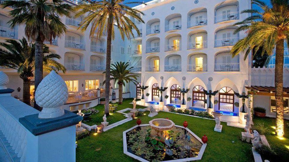 Terme Manzi Hotel and Spa Garden