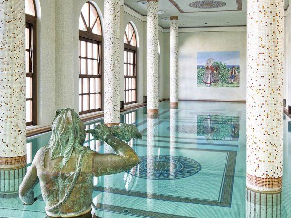 Terme Manzi Hotel and Spa Indoor pool