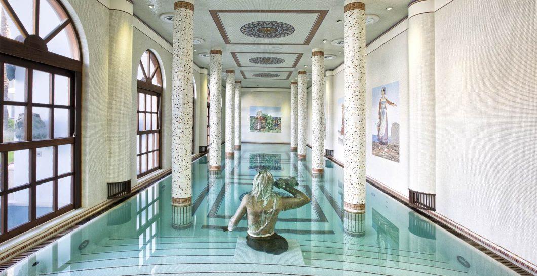 Terme Manzi Hotel and Spa inner pool