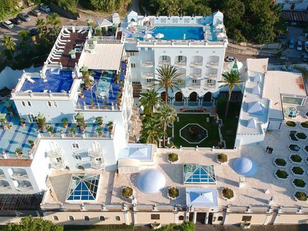 Terme Manzi Hotel and Spa upper view