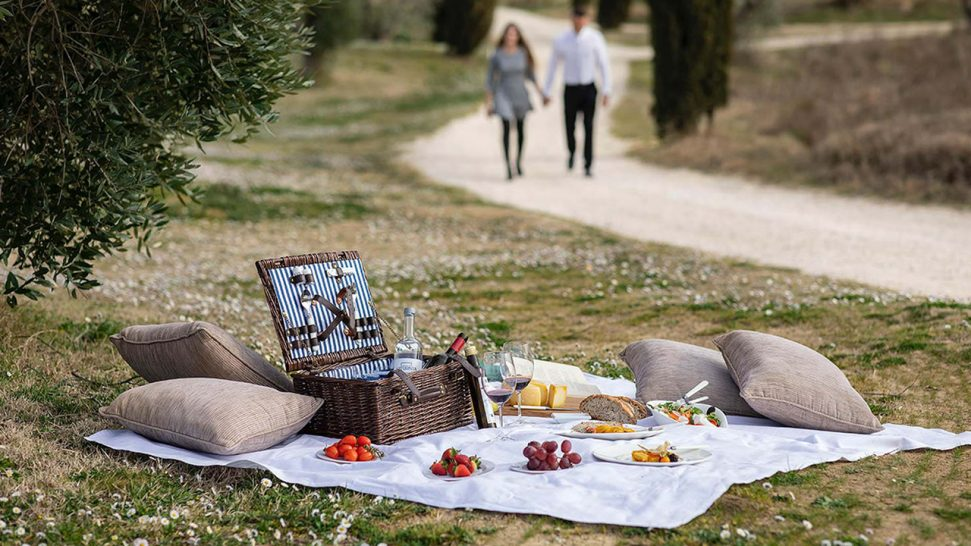 Terme di Saturnia Spa and Golf Resort Picnic Therapy