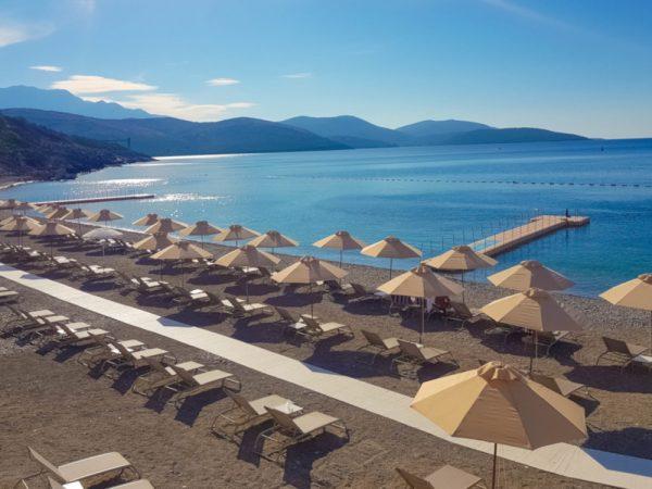 The Chedi Lustica Bay Beach View