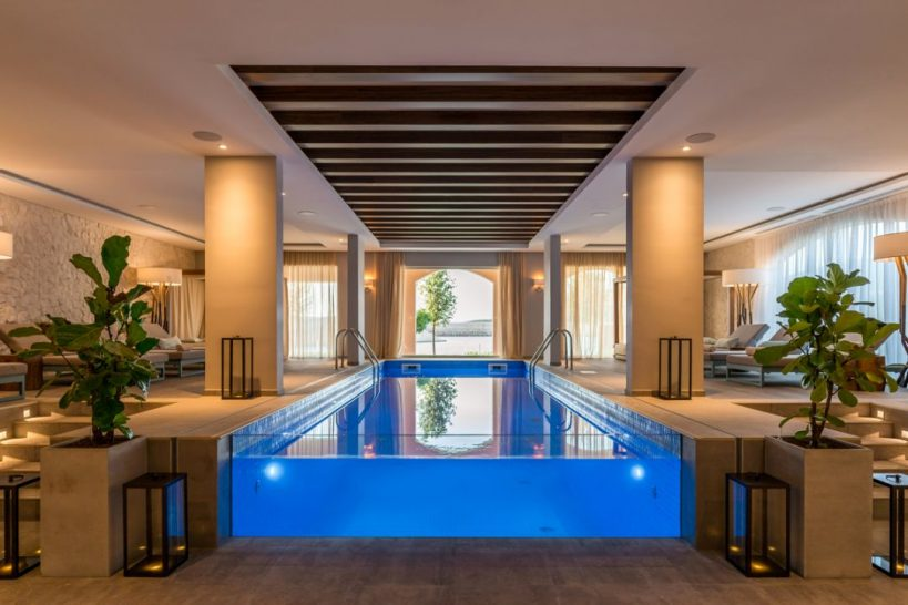 The Chedi Lustica Bay Spa Pool