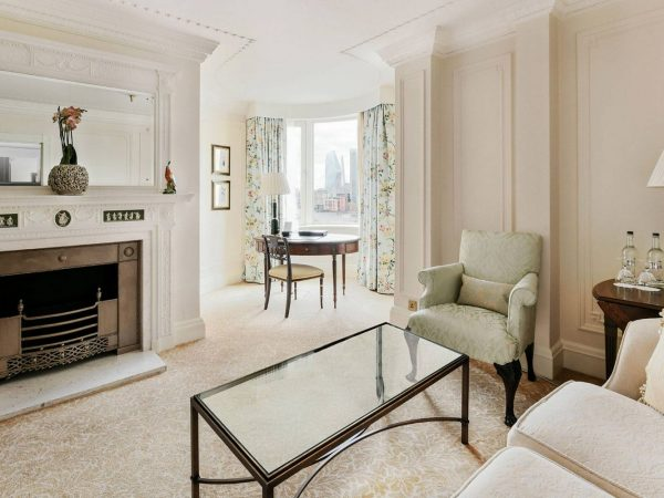 The Savoy Hotel London Deluxe Junior Suite Partial River View