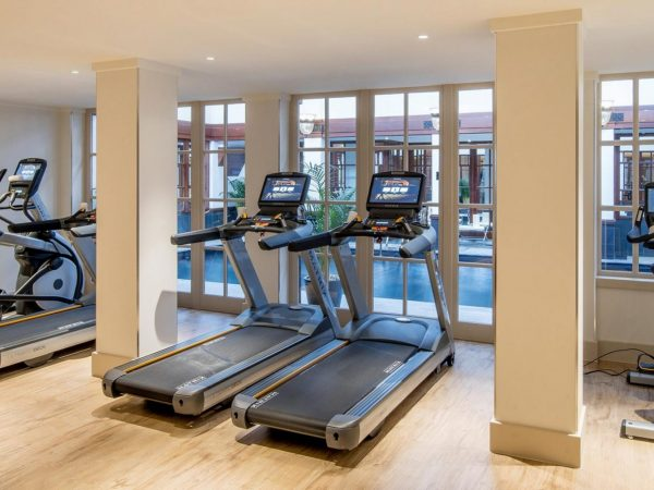 The Savoy Hotel London Gym