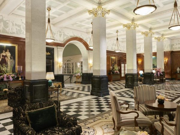 The Savoy Hotel London Interior View