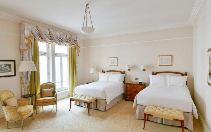 The Savoy Hotel London Luxury Double Double Room