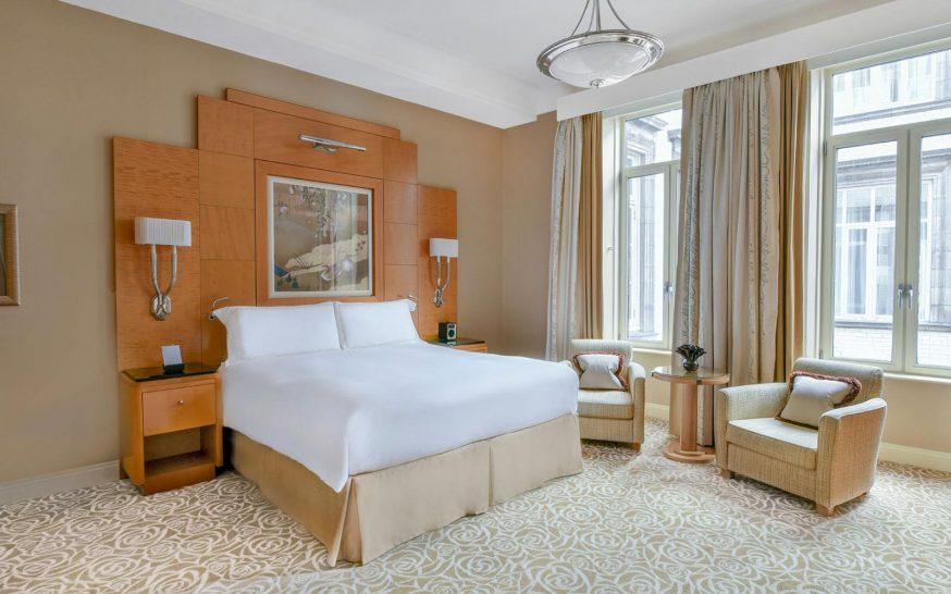 The Savoy Hotel London Luxury King Room