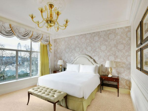 The Savoy Hotel London Luxury King Room River View