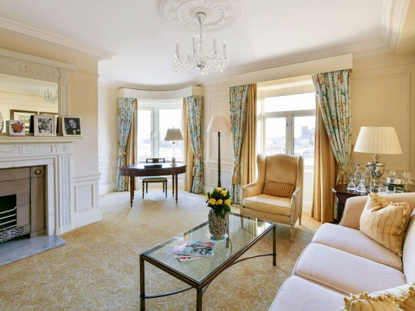 The Savoy Hotel London Personality Suite Partial River View