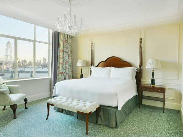 The Savoy Hotel London Personality Suite River View