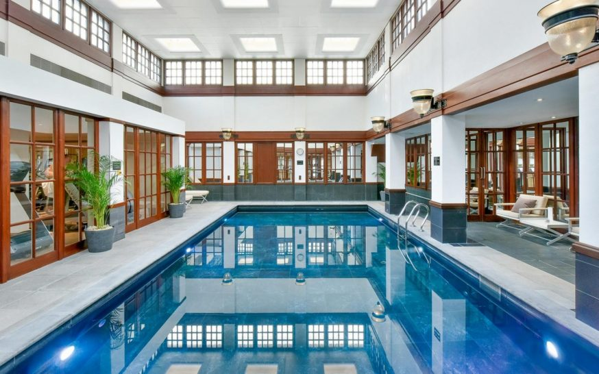 The Savoy Hotel London Pool
