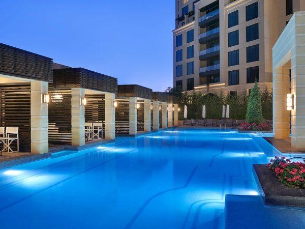 The St. Regis Amman Hotel Pool