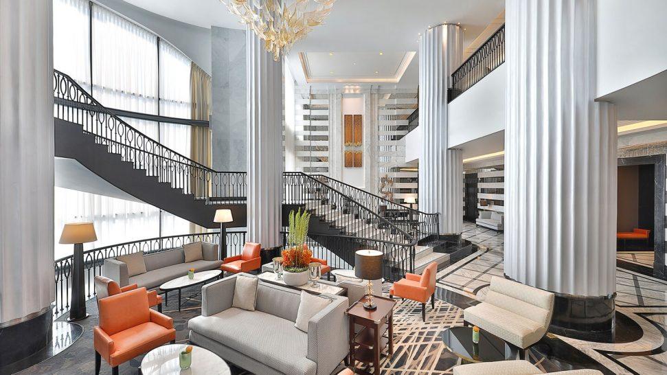 The St. Regis Amman Tea Lounge