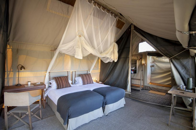 African Bush Camps Linyanti Expeditions Canvas Tents