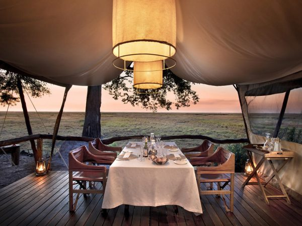 African Bush Camps Linyanti Expeditions Dining