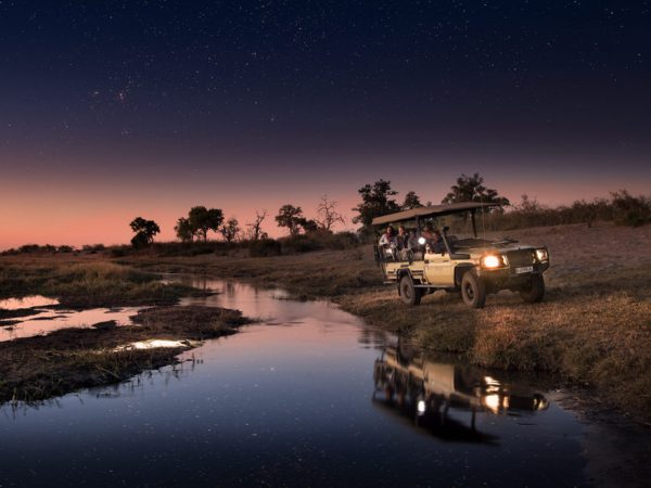 African Bush Camps Linyanti Expeditions Night Drives