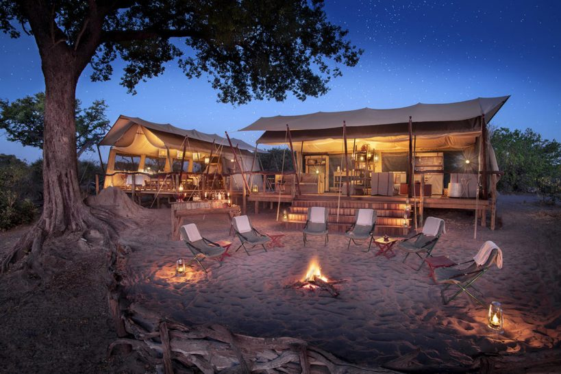 African Bush Camps Linyanti Expeditions Wxterior View