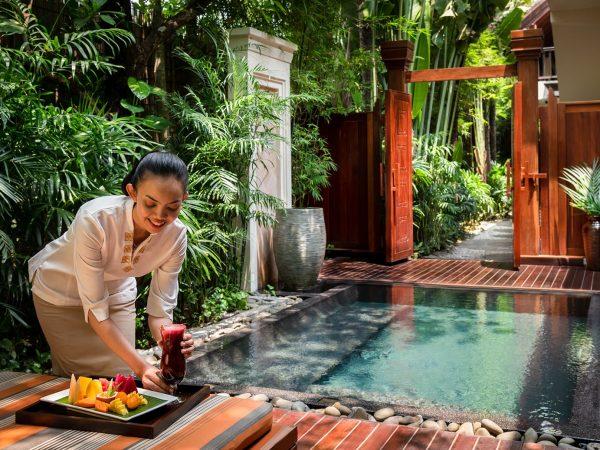 Anantara Angkor Resort Lobby Pool