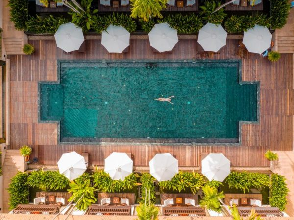 Anantara Angkor Resort Pool Top View