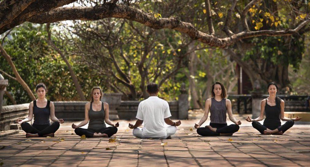 Anantara Angkor Resort Yoga