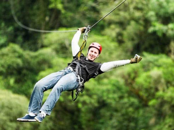 Anantara Angkor Resort Ziplining