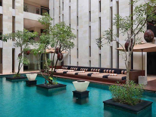 Anantara Seminyak Bali Resort Lobby Pool