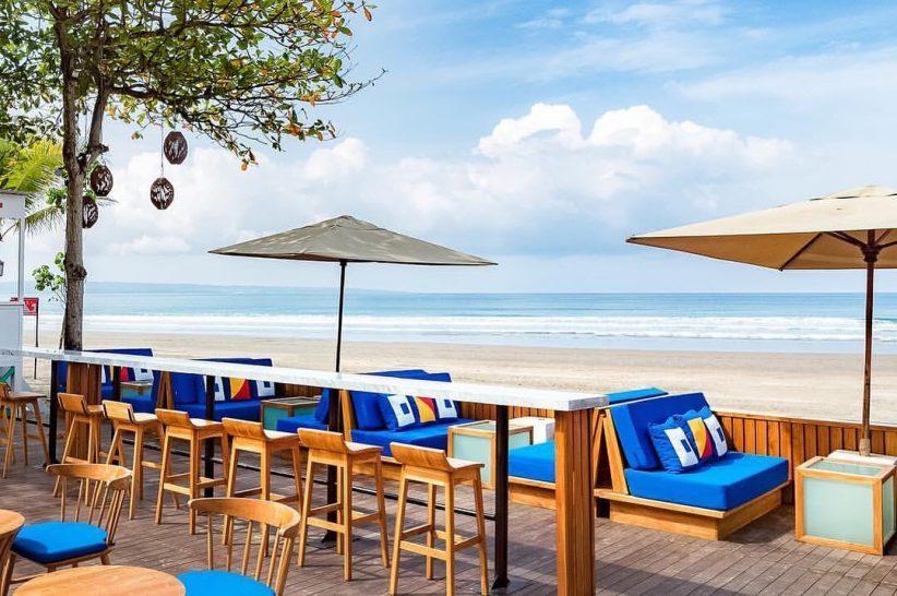 Anantara Seminyak Bali Resort SOS Beachfront Dining