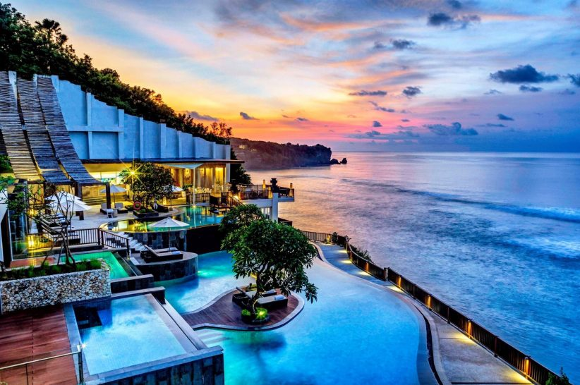 Anantara Uluwatu Bali Resort Sunset