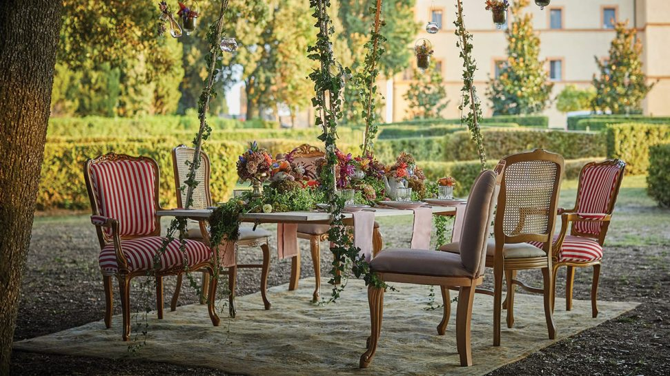 Belmond Castello di Casole Dining Above and Beyond
