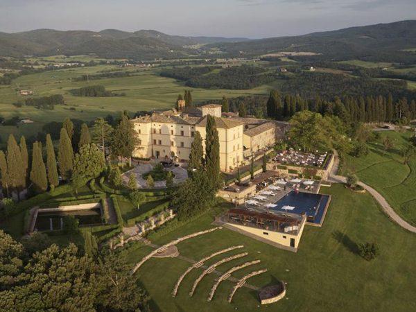 Belmond Castello di Casole Hotel View
