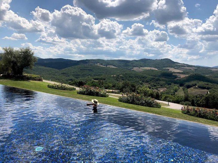 Belmond Castello di Casole Pool
