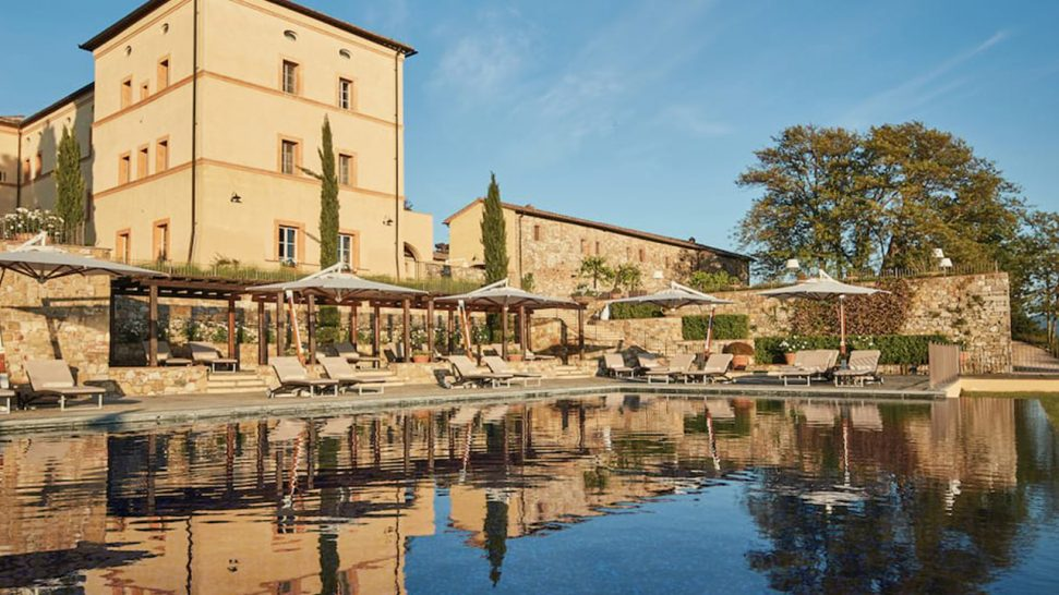 Belmond Castello di Casole Pool Bar
