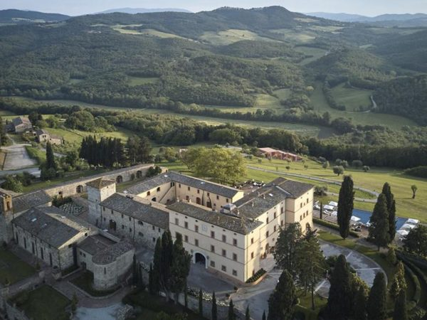Belmond Castello di Casole Top View