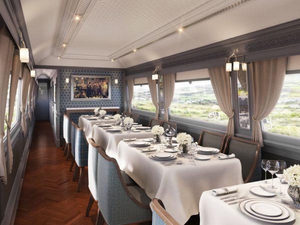 Belmond Grand Hibernian Sligo Restaurant Dining Car
