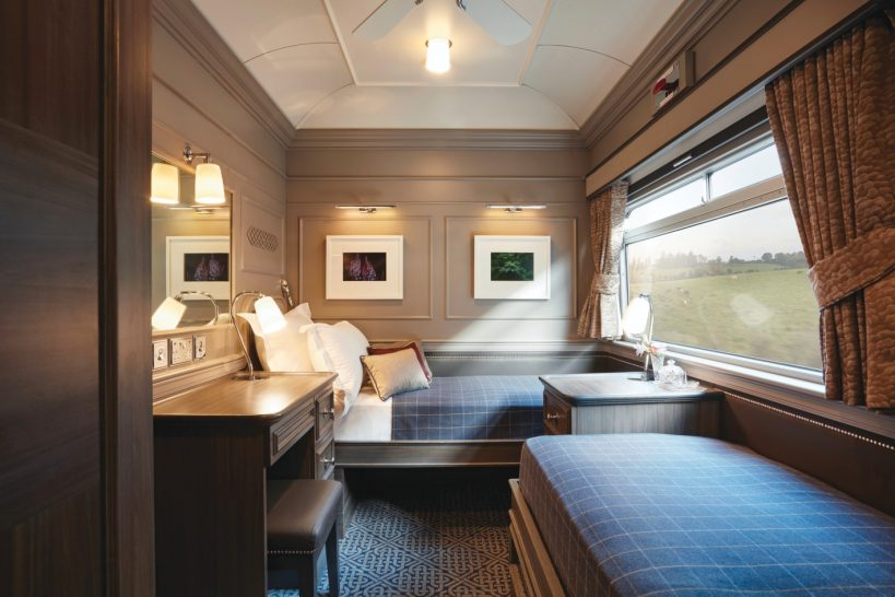Belmond Grand Hibernian Twin Cabin