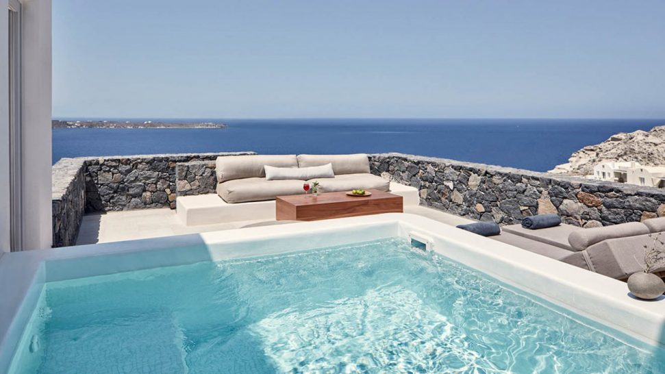 Canaves Oia Epitome Deluxe Suite With Plunge Pool