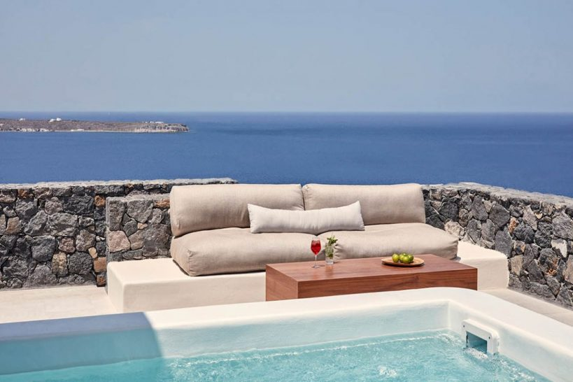 Canaves Oia Epitome Honeymoon Suite with Plunge Pool