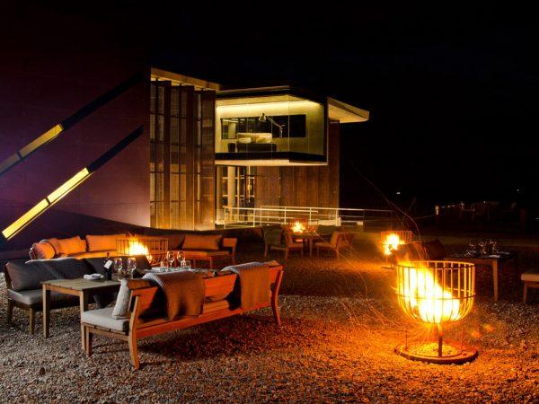 Casa de Uco Vineyards and Wine Resort Night Fire