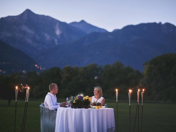 Castello del Sole Beach Resort and Spa Just a table for two