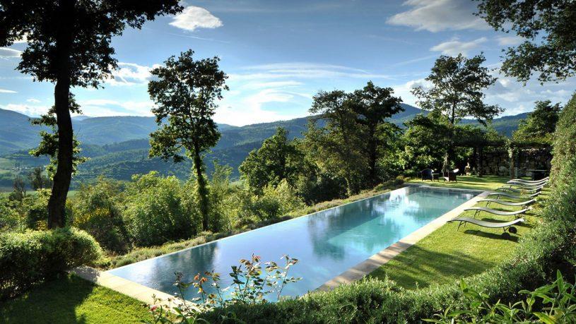 Castello di Reschio Pool