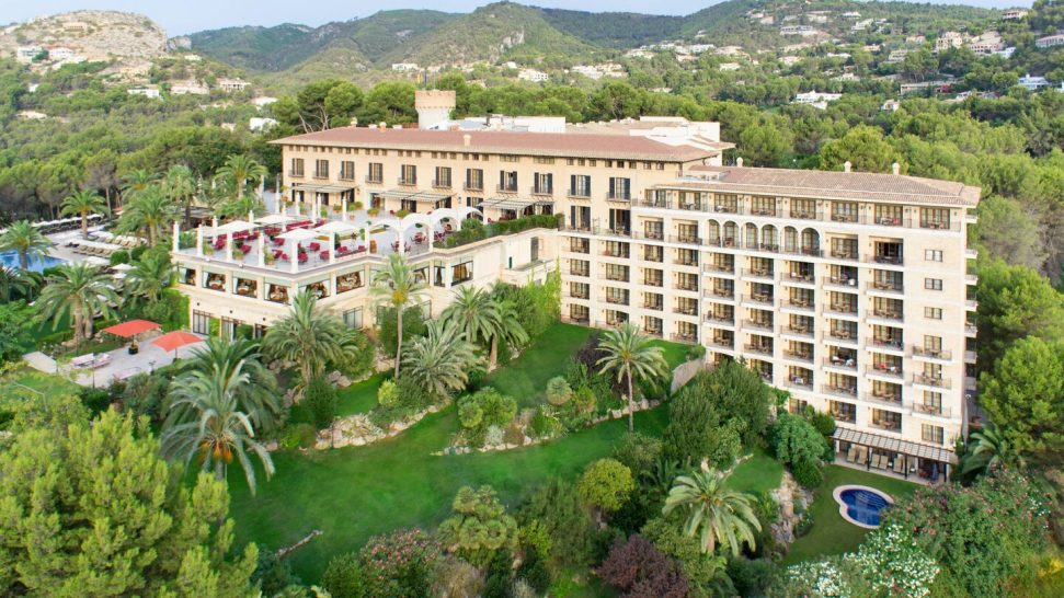 Castillo Hotel Son Vida, a Luxury Collection Hotel, Mallorca Aerial