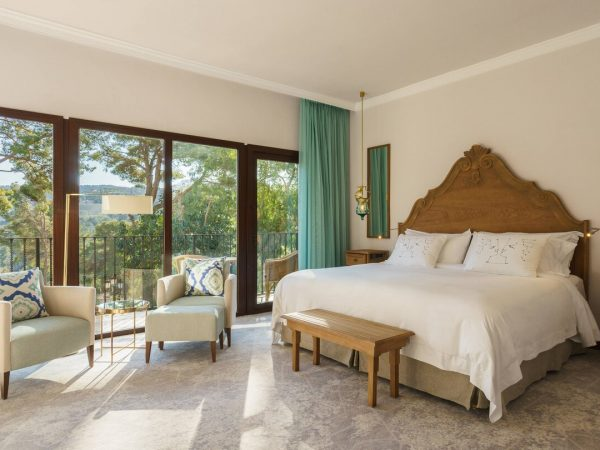 Castillo Hotel Son Vida, a Luxury Collection Hotel, Mallorca Classic Terrace Guest room, 1 Queen, Garden view, Balcony